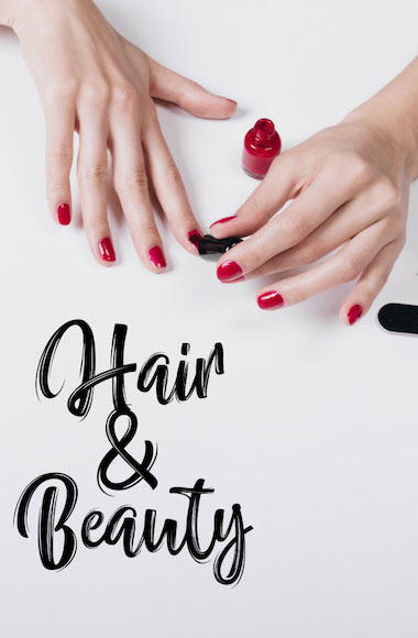 Hair and Beauty banner